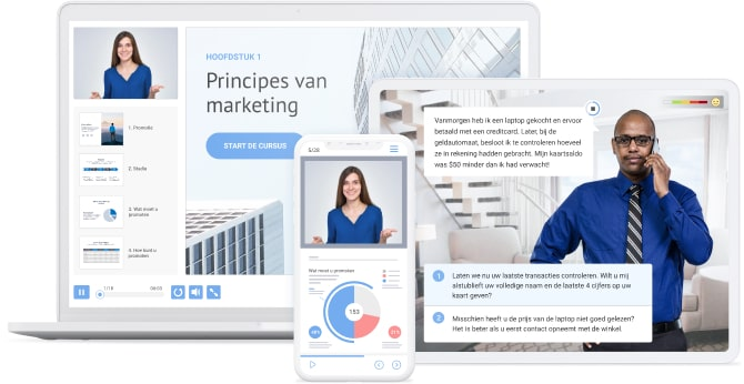 Snelle e-learning authoring toolkit